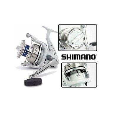 MULINELLO  SHIMANO SPEEDCAST 8000 XSA CON 2 BOBINE DI RICAMBIO + FILO OMAGGIO!!!