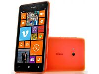 **** NOKIA LUMIA 625 UNLOCKED TO ALL NETWORKS ****