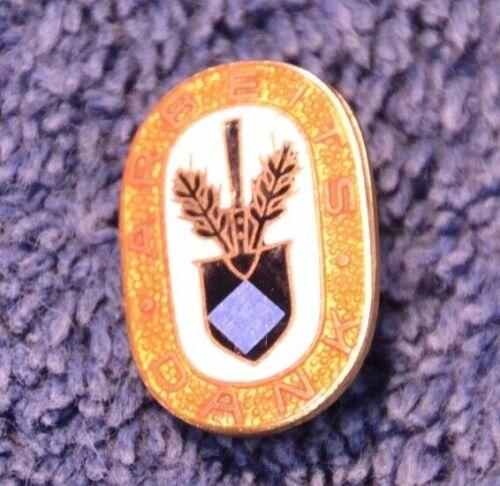 Mint Original WW2 German RAD Arbeits Dank Enamel Membership Pin