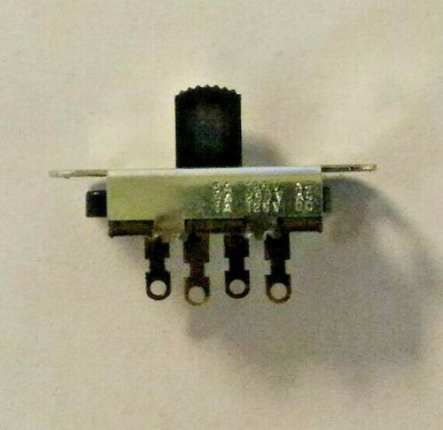 Single Pole Three Position Slide Switch Electronic Parts SP3P Stackpole