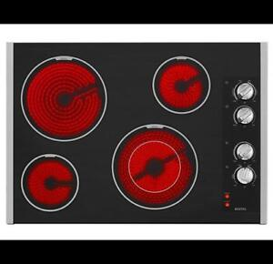 MAYTAG 30-INCH ELECTRIC COOKTOP MEC7430BB (BD-2049)