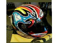 Suomy vandal motorcycle helmet