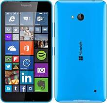 Near New Mint condition BLUE NOKIA LUMIA 640 LTE 4G Forrestdale Armadale Area Preview