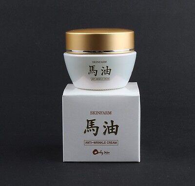 Skinfarm Jeju Island Horse Oil Cream 50g Anti Wrinkle Cream Free Shipping