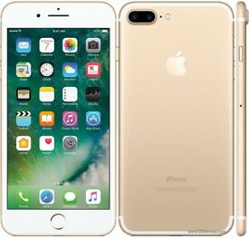 iPhone 7 Plus gold 256gb BRAND NEW and unlocked