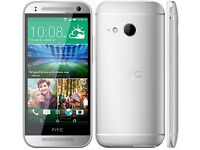 HTC ONE MINI 2 GLACIER SILVER 16GB 4.5IN TFT.FACTORY UNLOCKED ANDROID 4.4 BOXED.MINT CONDITION