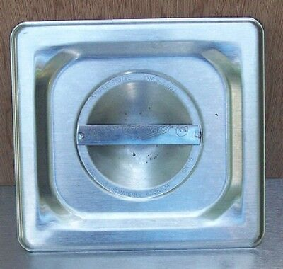 Restaurant Equipment Bar Supplies Vollrath Sixth Size Stainless Food Pan Lid