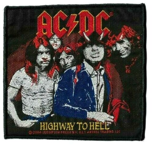 AC/DC Highway to Hell Patch [UK Import] Memorabilia Emblem Logo ACDC High Way
