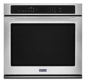 MAYTAG MEW9527FZ 27-INCH WIDE 4.3 CU. FT WALL OVEN WITH TRUE CONVECTION IN BRAMPTON (BD-2058)