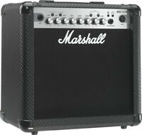 Marshall Guitar Amplifier + FX Effect included  Like New