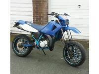yamaha dt 125 sm dtr dtx dt125re motorcross super moto sx mx yz