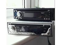 Car CD stereo. X2 both work as they should.