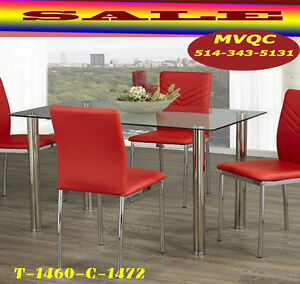 dining tables furniture sets, glass dinette sets, chair, fcqc