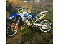 yamaha yz 125 2005 motorcross bike crosser 250 85 kx ktm cr rm pit bike quad firld bike moped