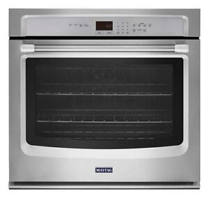 NEW MAYTAG STAINLESS STEEL WALL OVEN-- WHAT A DEAL!!