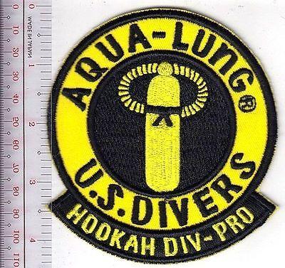 Scuba Diving Usa Us Divers Aqua Lung Hookah Div Pro Patch Los Angeles  Ca