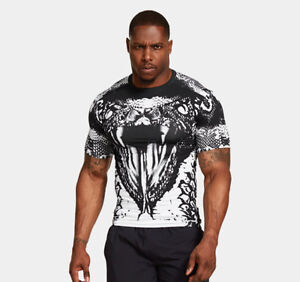 Under armour mens alter ego beast mode white snake for Beast mode shirt under armour