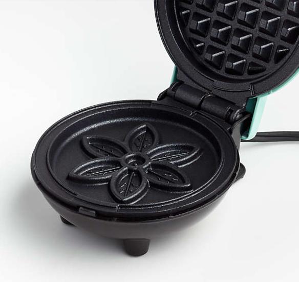 mini flower waffle maker