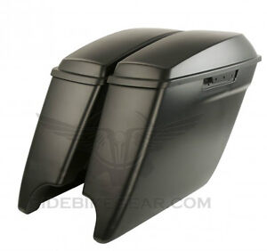 "14/15 HD HARLEY 4.5"" STRETCHED EXTENDED SADDLE BAGS SADDLEBAGS Kitchener / Waterloo Kitchener Area image 7"