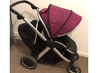 Oyster max double pram