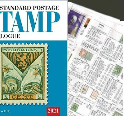 North Borneo 2021 Scott Catalogue Pages 447-454