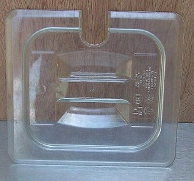 Restaurant Equipment Bar Supplies Cambro 60cwchn Sixth Size Clear Pan Cover Slot