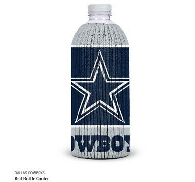 Cowboys De Dallas Tessuto Borsa Termica per Bottiglie NFL Calcio Knit Raffredda
