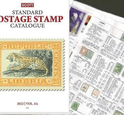 Latakia 2022 Scott Catalogue Pages 639-640