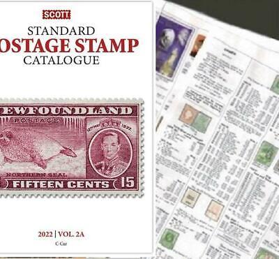 Cape Verde 2022 Scott Catalogue Pages 145-160