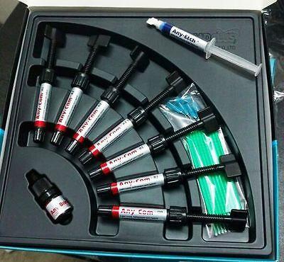 1-micro Hybrid Dental Resin-based Composite 7 Syringe Kit Anycom Expiry-32020