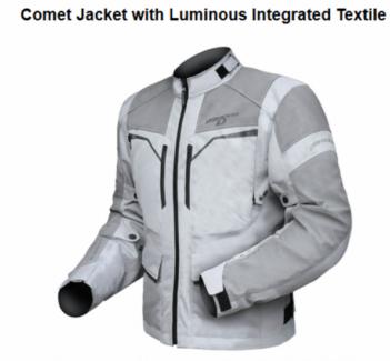 NEW Dririder Comet Xenon motorcycle jacket -range of sizes HI VIZ