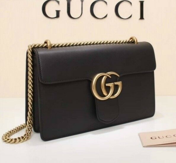 52eb5a218419 Gucci  GG  Bag - Black