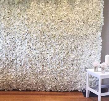 Flower Wall - White - Melbourne - Hire