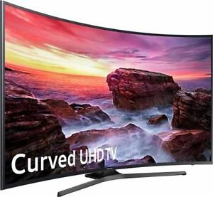 "BRAND new Samsung 2017 MODEL 55"" & 65"" 4k Curved, & 4K UHD HDR,120HZ, Smart Led"