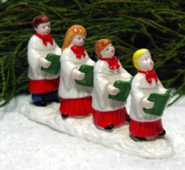 CHOIR KIDS # 51470 DEPT 56 RETIRED SNOW VILLAGE  GREAT ACCESSORY FOR CHURCHES