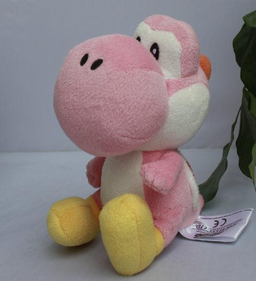 "Nintendo Super Mario Bros. sidekick Yoshi  6 1/2""  Pink Plus"