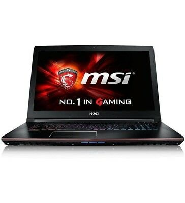 "MSI Stealth Pro GS73VR 7RF Core i7-7700HQ 16GB 2TB HDD + 256GB SSD 17.3"" Laptop"