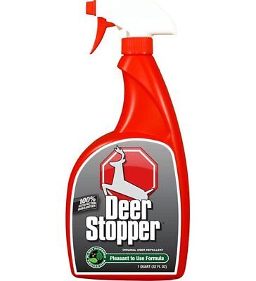 Messinas DS-U-016 Deer Stopper Deer Repellent, RTU Trigger Bottle, 32 Oz