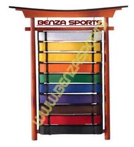 KARATE BELT RACK, KUNG FU SASHES RACK, JUDO BELT RACK ON SALE ONLY @ BENZA SPORTS