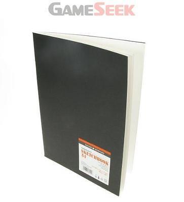 DALER ROWNEY A4 GRADUATE SKETCHBOOK SATIN MATT BLACK COVER