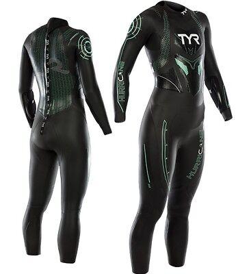 e090e08a1a60e TYR Hurricane Category Cat 3 triathlon wetsuit Womens Small S