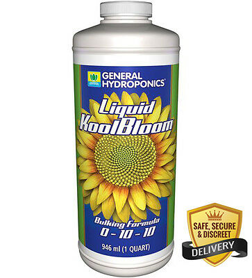 General Hydroponics Koolbloom Liquid 1 Quart Free Shipping
