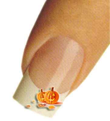 trend Halloween Kürbisse Naildesign Nagelschmuck Tattoos  (Halloween Lustige Kürbisse)