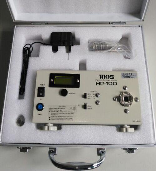 Torquemeter Hios HP-100 Digital Torque Meter Torsiometer Torsion Dynamometer