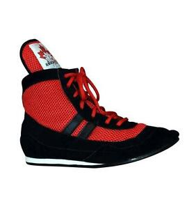 Boxing Shoes. Wrestling Shoes made of cowhide leather