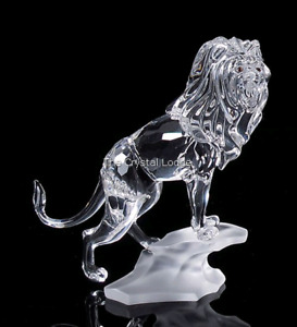 Swarovski Large Lion on Rock