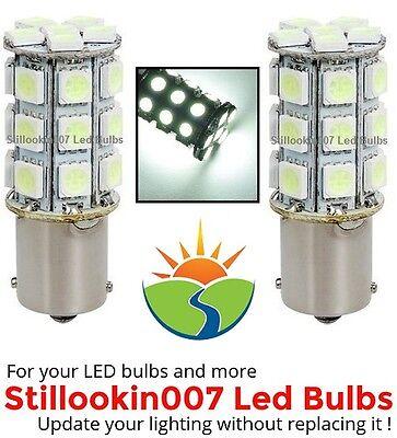 2 x Landscape lighting bulb 1141, 1156, 27led bulb upgrade Cool White