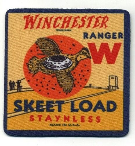 Winchester Ranger Skeet Load  - COASTER -  Ammo Box Quail Hunting Design