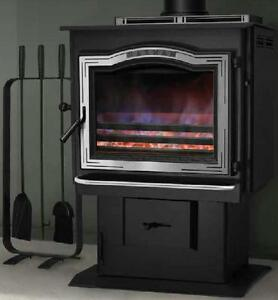 TLC-2000 Wood & Coal Stove - 10% Off + 0% Financing*