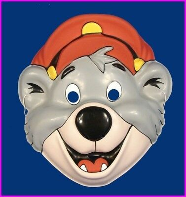 * Baloo Bear of TaleSpin Walt Disney Adult Costume Mask Ben Cooper 1990 NEW * - 1990 Halloween Costumes